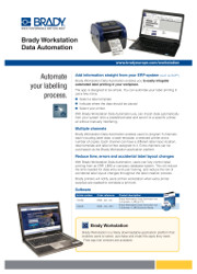 Brady Workstation Data Automation - English